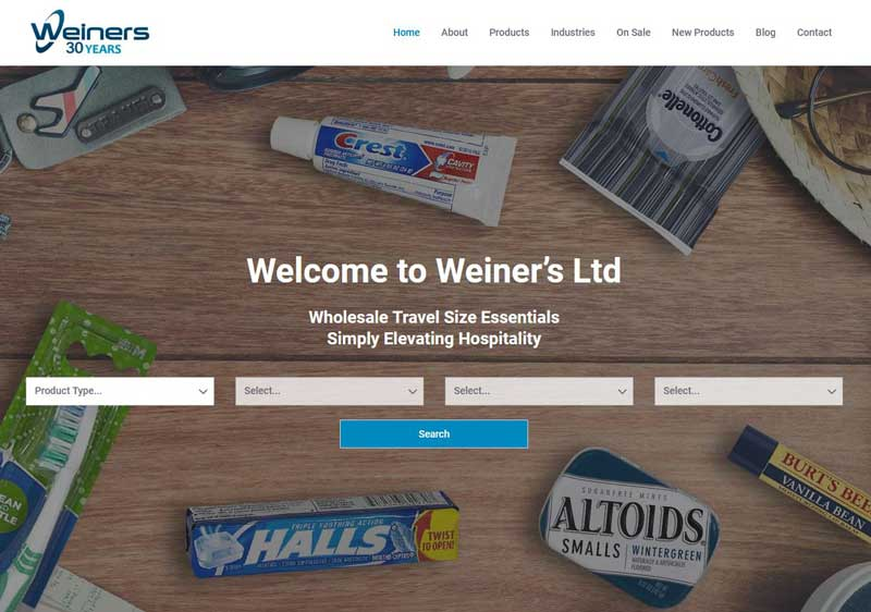 weiners wholesale
